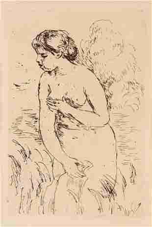 Pierre-Auguste Renoir (French, 1841-1919) Baigneuse