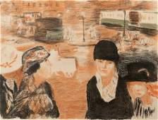 Pierre Bonnard (French, 1867-1947) Place Clichy, 1922