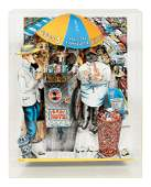 Red Grooms (American, b. 1937) Hot Dog Vendor, 1994