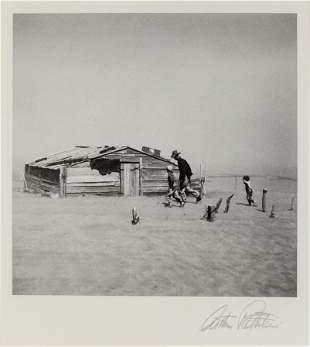 Arthur Rothstein (American, 1915-1985) Dust Storm,