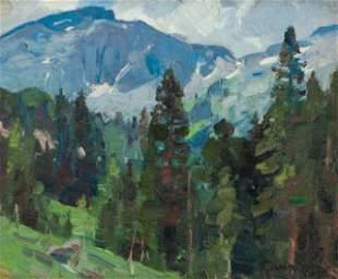 Carl Rungius  (American, 1869 - 1959) Mountain