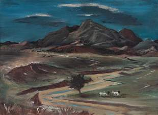 Arnold Blanch (American, 1896-1968) Dead River