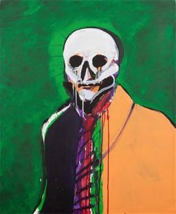 Fritz Scholder (Luiseno, 1937-2005) Untitled Portrait
