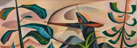 William Sanderson (American, 1905-1990) Archer