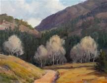 Stephen C. Elliott (American, b. 1943) Two Landscapes