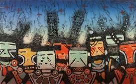 Dan Lomahaftewa (HOPI / CHOCTAW, 1951-2005) Winter