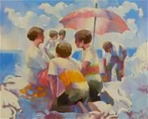 Keith Lindberg American b 1938 Sun Shade
