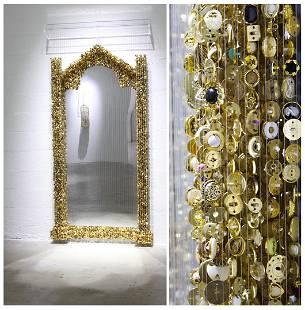 Augusto Esquivel (Argentine, b. 1976) Golden Mirror,