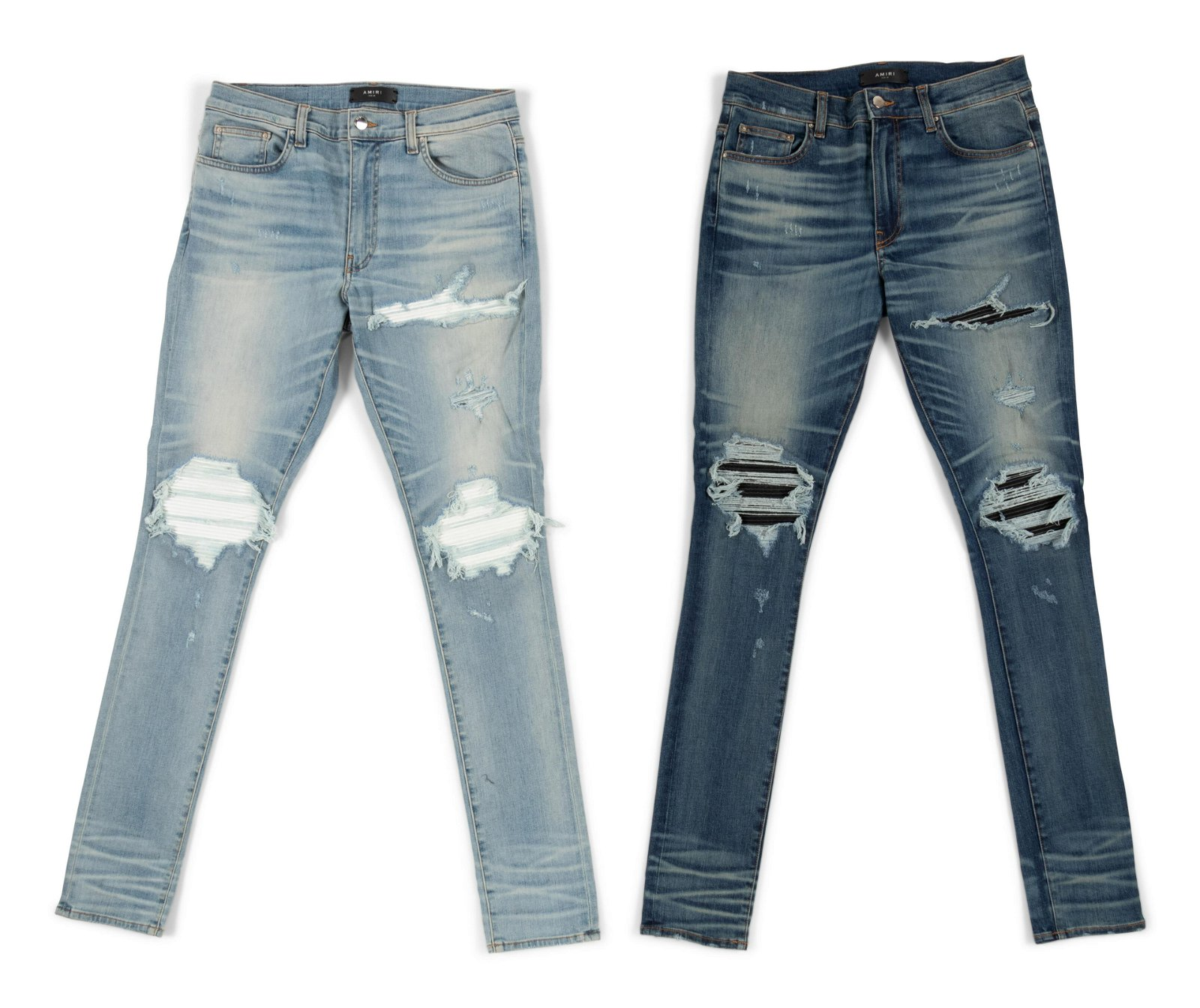 Two Pairs of Amiri Jeans, c.2017