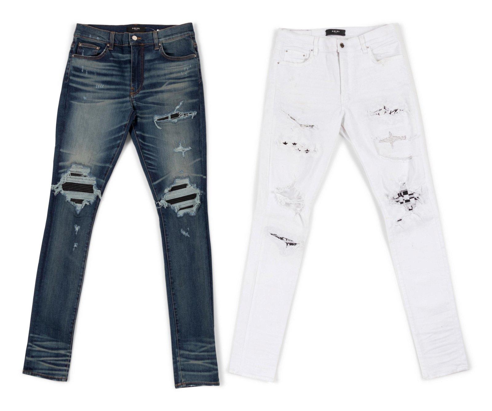 Two Amiri Jeans, c.2017
