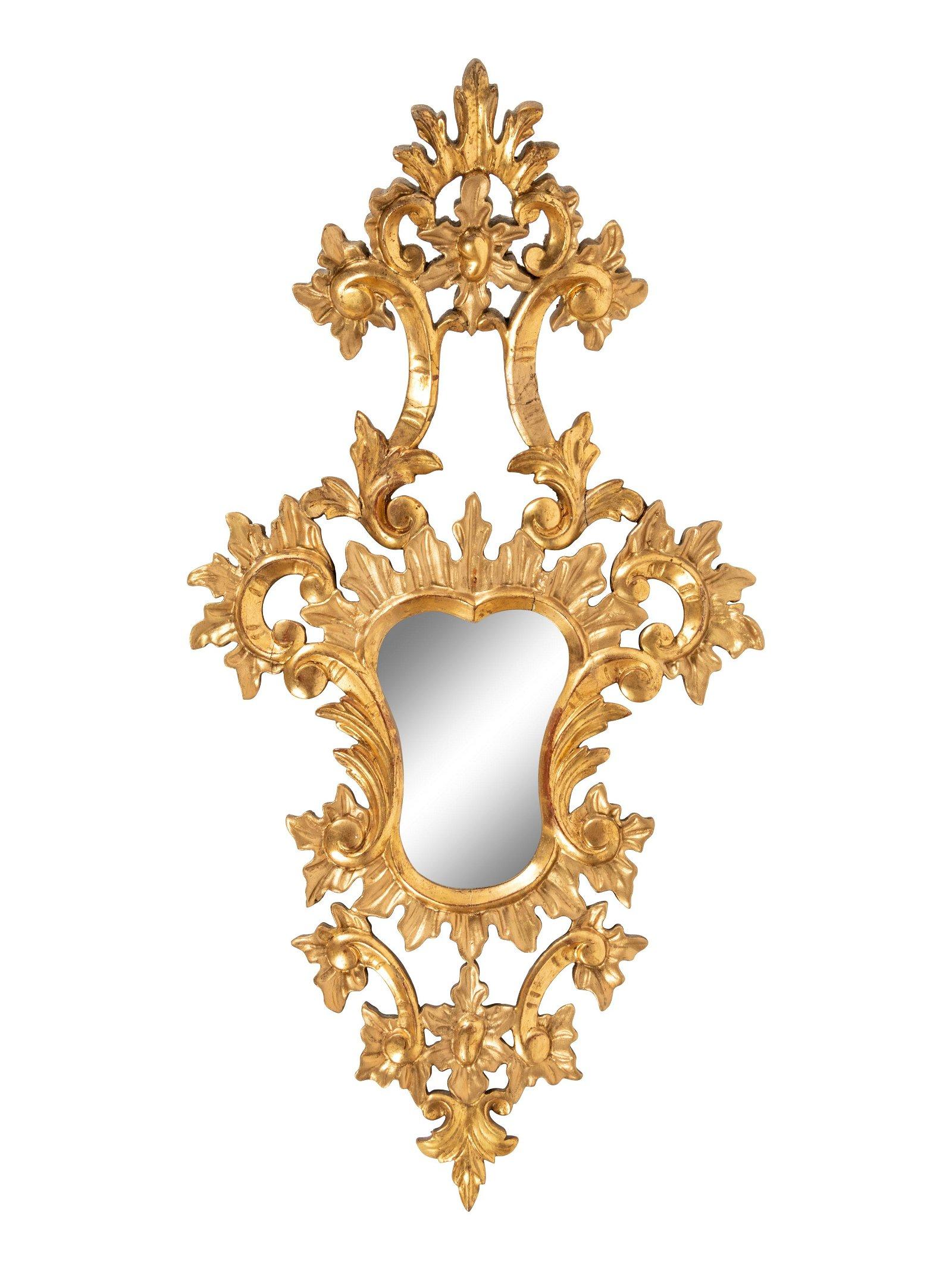A Venetian Style Giltwood Mirror