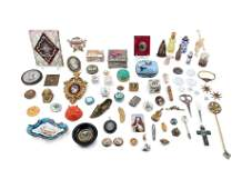A Collection of Porcelain Miniatures, Small Boxes and