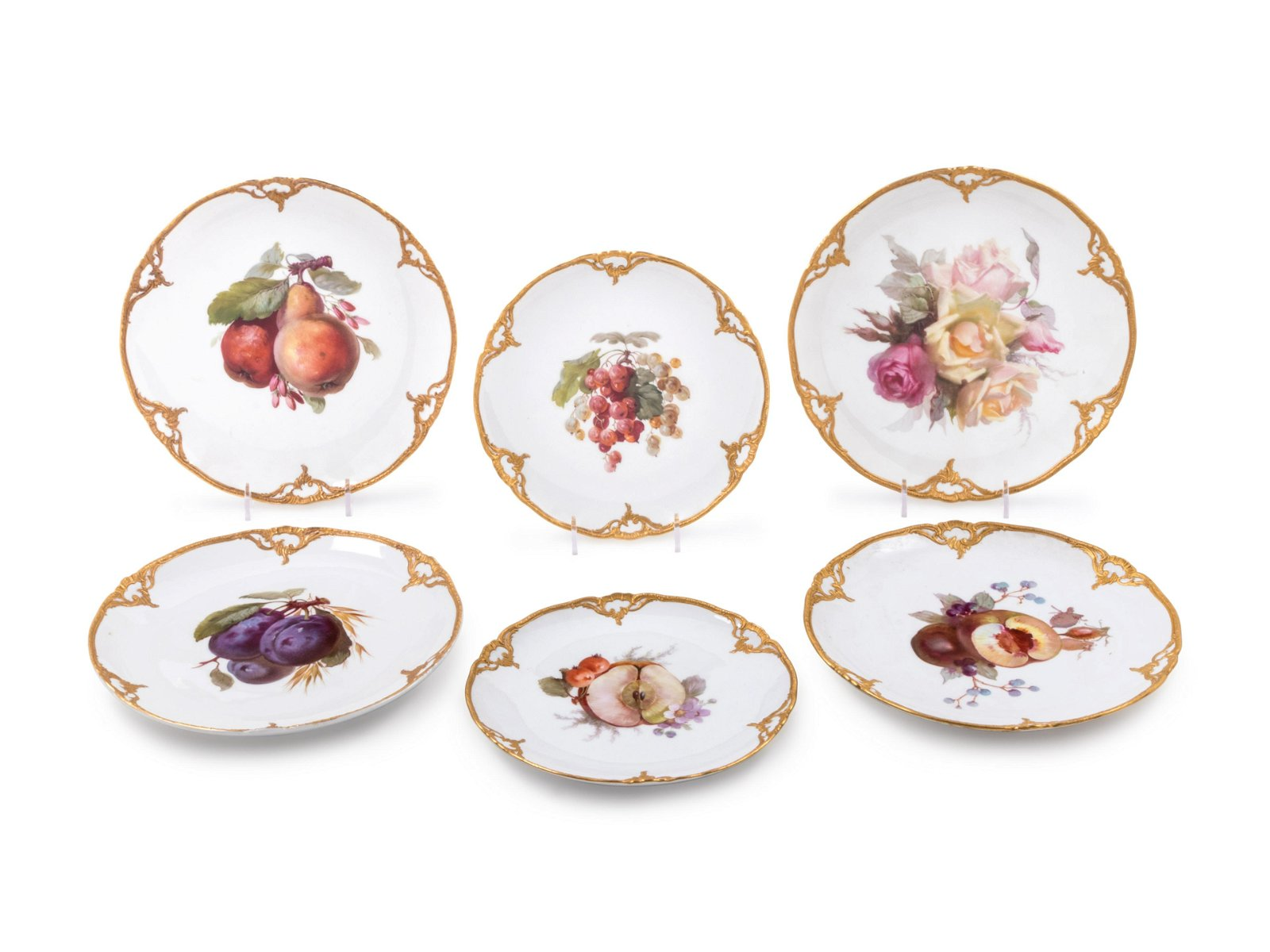 A Set of Twenty-Seven Berlin (K.P.M.) Porcelain Plates