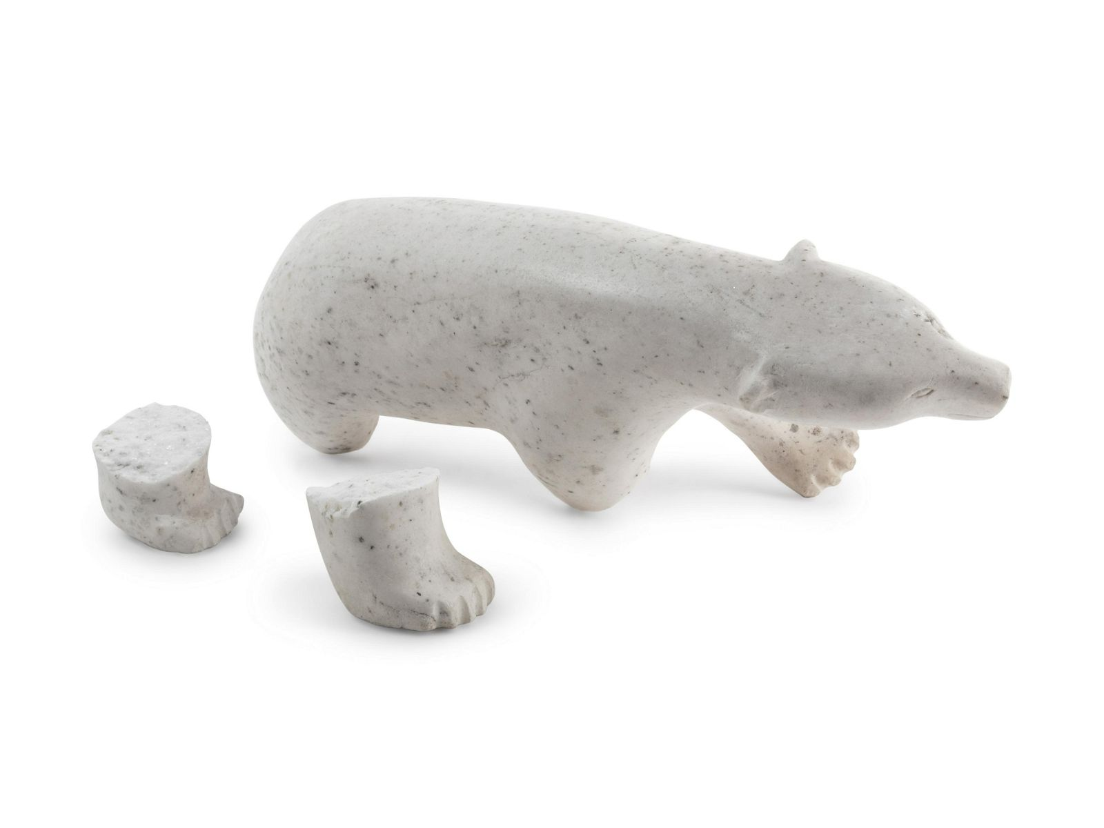 An Inuit Carved Stone Sculpture