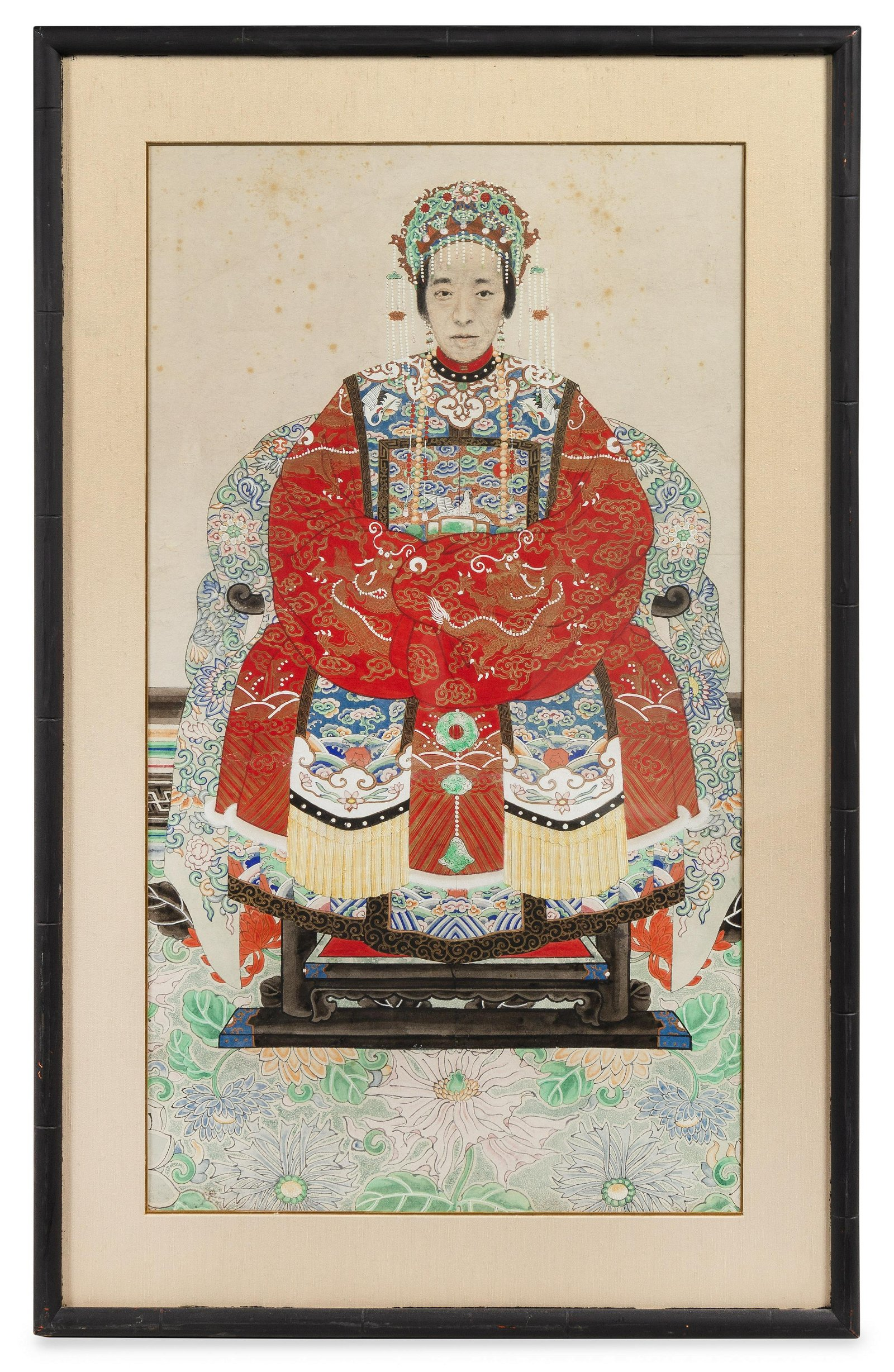 A Chinese Ancestral Portrait