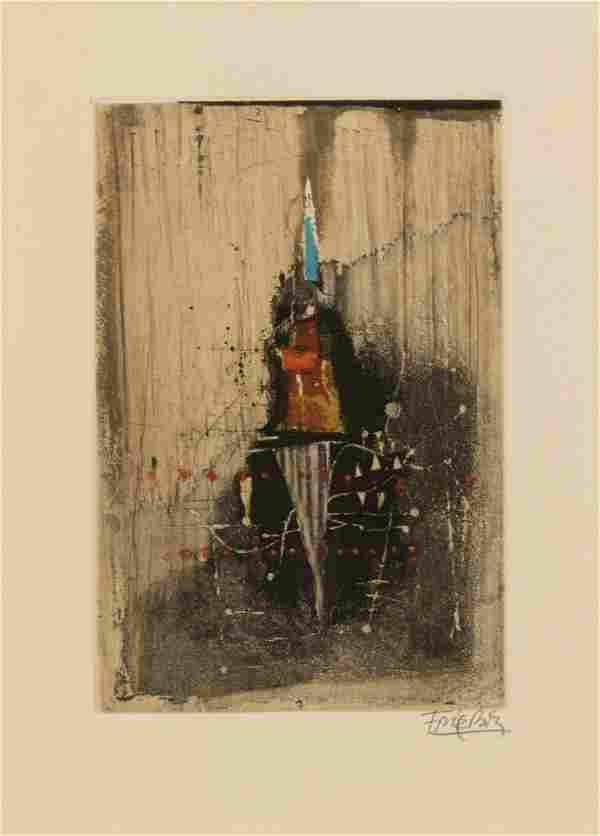 Johnny Friedlaender (German, 1912-1992) Untitled (Group