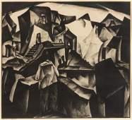 William Samuel Schwartz (American, 1896-1977) Untitled,