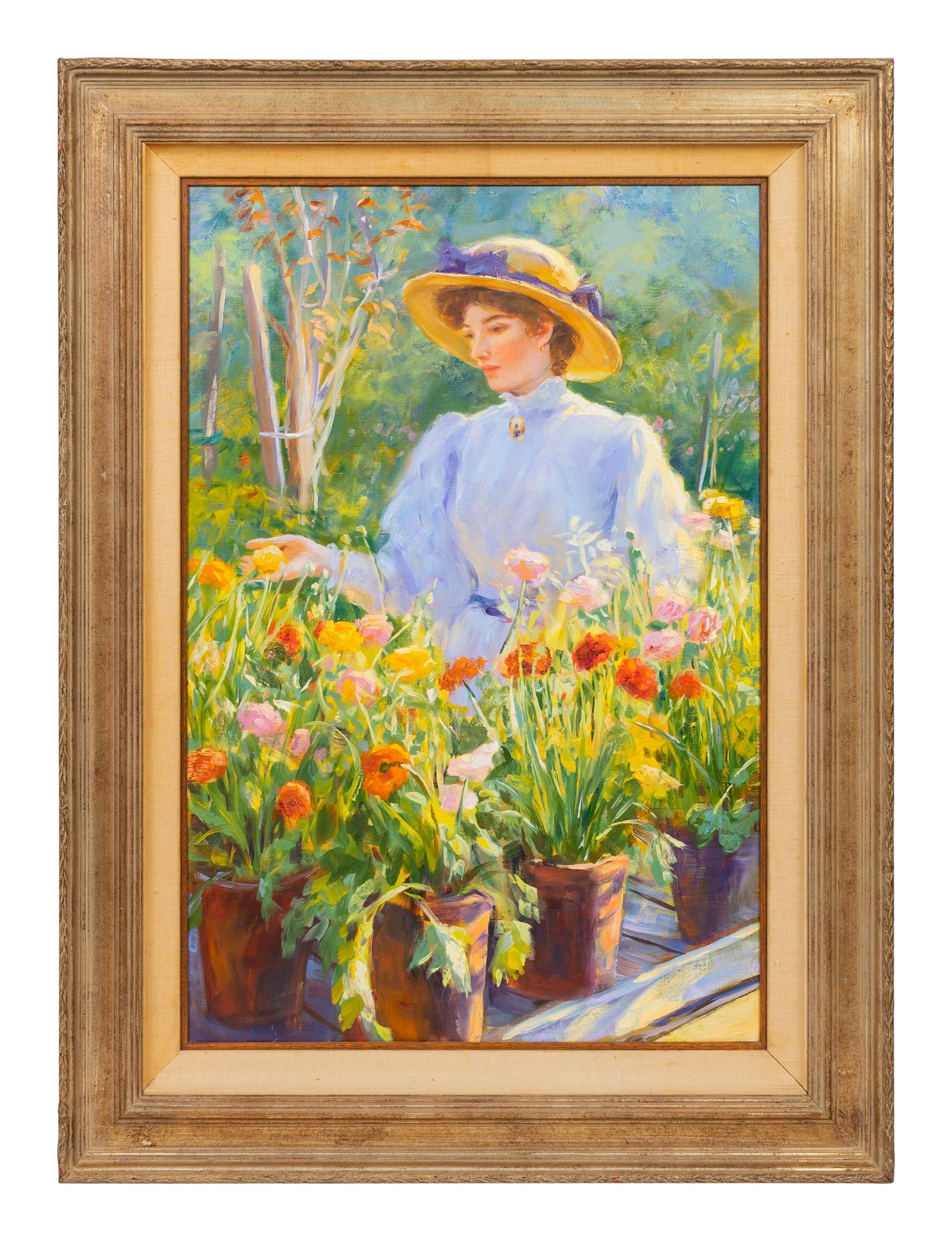 Gregory F. Harris (American, b. 1953) Spring Flowers,
