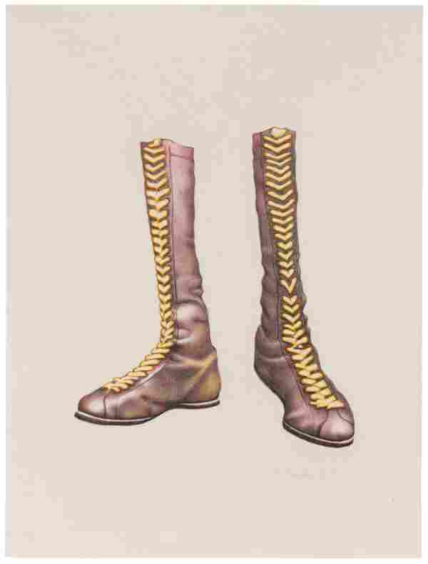 Ed Paschke (American, 1939-2004) Boots, 1972