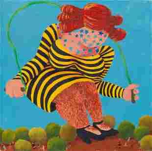 Gladys Nilsson (American, b. 1940) Untitled (Hairy