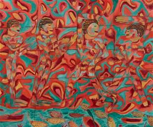 Pauline Simon (American, 1898-1976) The Egyptians, c.