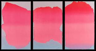 Joe Goode (American, b. 1937) Untitled (Triptych)from