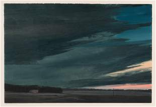 Keith Jacobshagen (American, b. 1941) Night Ice, Near