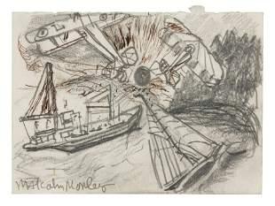 Malcolm Morley (British, 1931-2018) Study for Regatta,