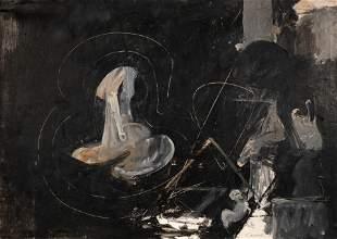 Nicolas Carone (American, 1917-2010) Untitled, 1957