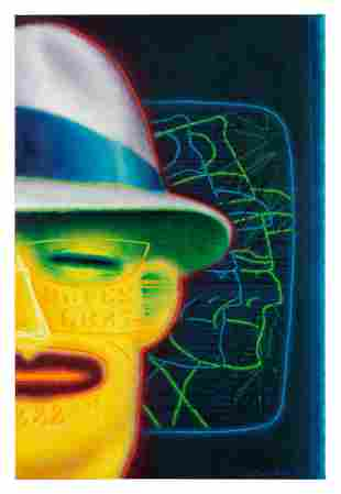 Ed Paschke (American, 1939-2004) Tracer, 1989
