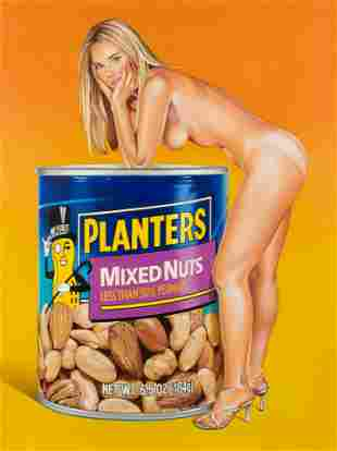 Mel Ramos (American, 1935-2018) Mixed Nuts: The Lost