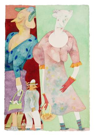 Gladys Nilsson (American, b. 1940) Oopps, 1988