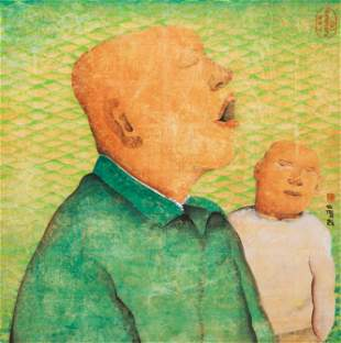 Zhu Wei (Chinese, b. 1966) Spring Festival No. 6, 2001