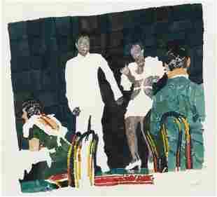 Richard Yarde (American, 1939-2011) Madame Walker's