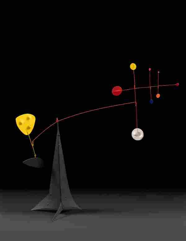 Alexander Calder (American, 1898-1976) Triple Cross,