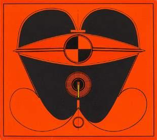Takeshi Kawashima (Japanese, b. 1930) Untitled, 1967