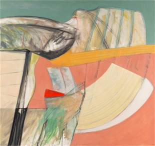 Ramiro Llona (Peruvian, b. 1947) Idea Fija, 1984