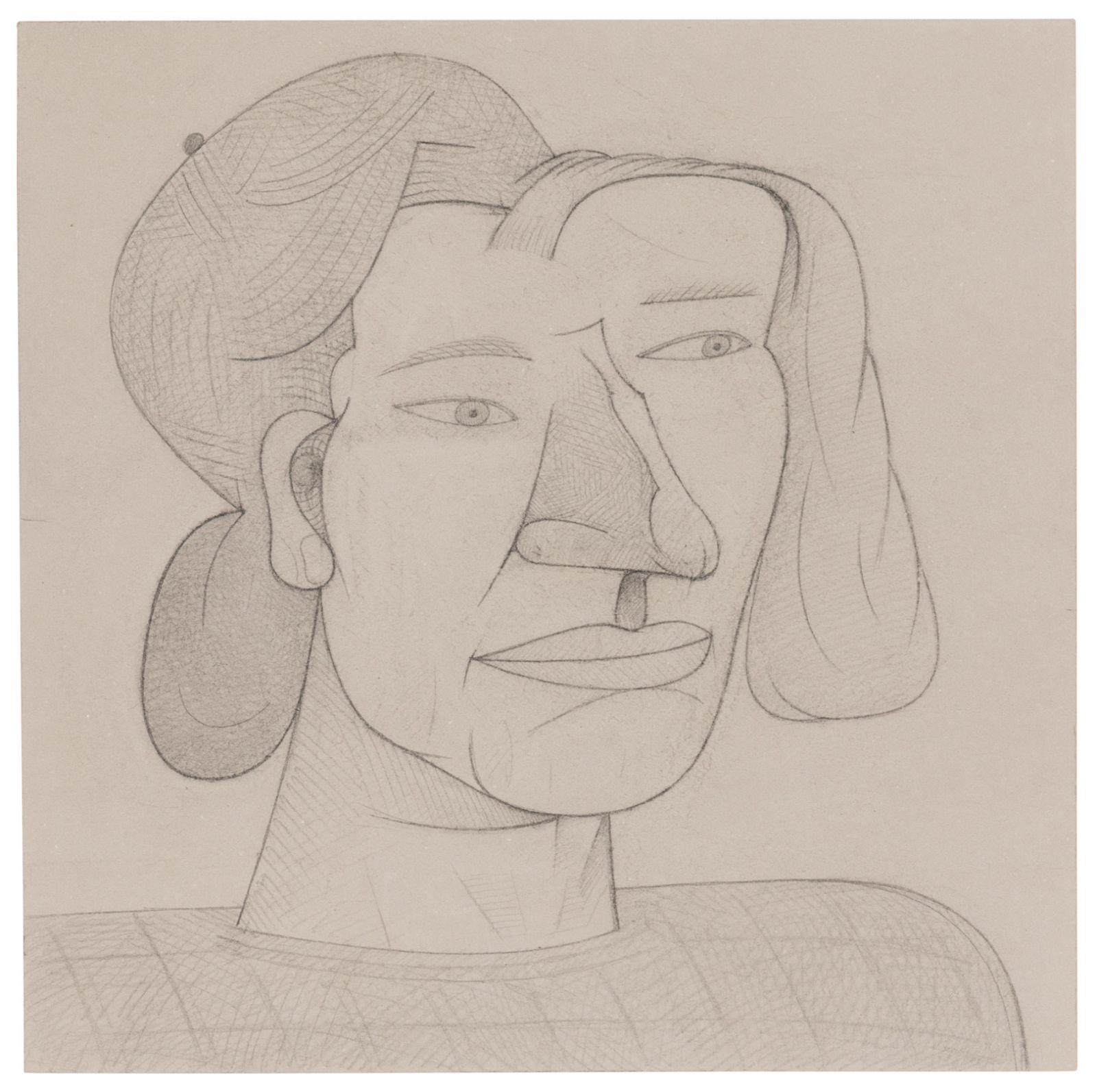 Jim Nutt (American, b. 1938) Untitled (Huge), 1992