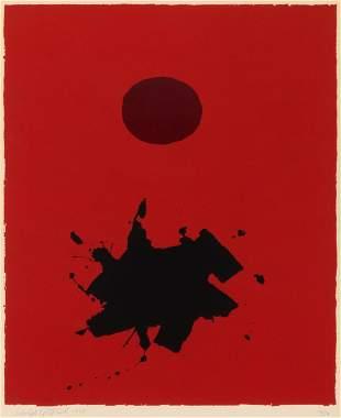 Adolph Gottlieb (American, 1903-1974) Red Ground