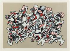 Jean Dubuffet French 19011985 Course La Galope