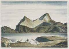 Rockwell Kent (American, 1882-1971) Sermilik Fjord,