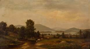 James Macdougal Hart (American, 1828-1901) Hudson River