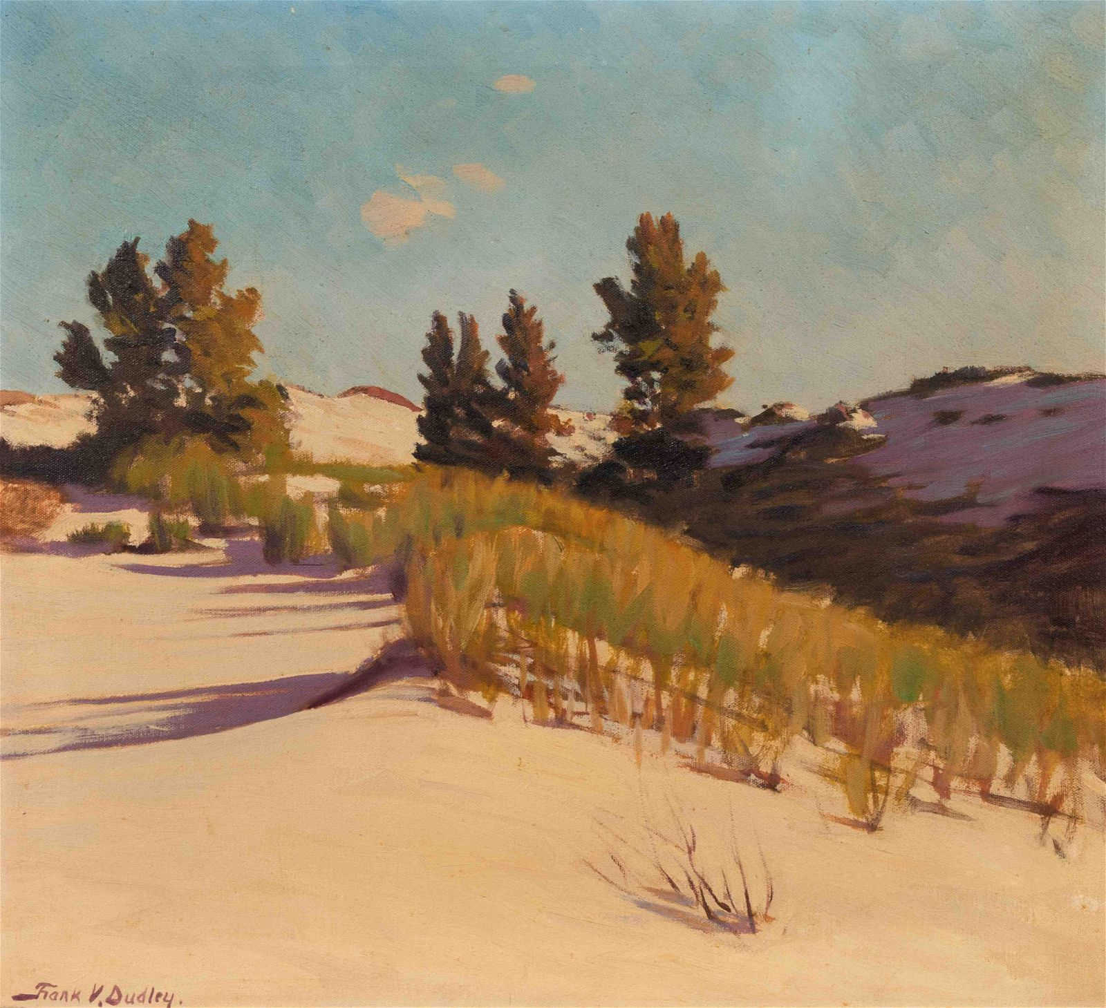 Frank Dudley (American, 1868-1957) Over the Hill and