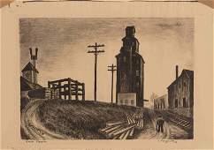 Edward Robert Ferguson (American, b. 1914) A pair of