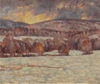 Dines Carlsen (American, 1901-1966) Winter