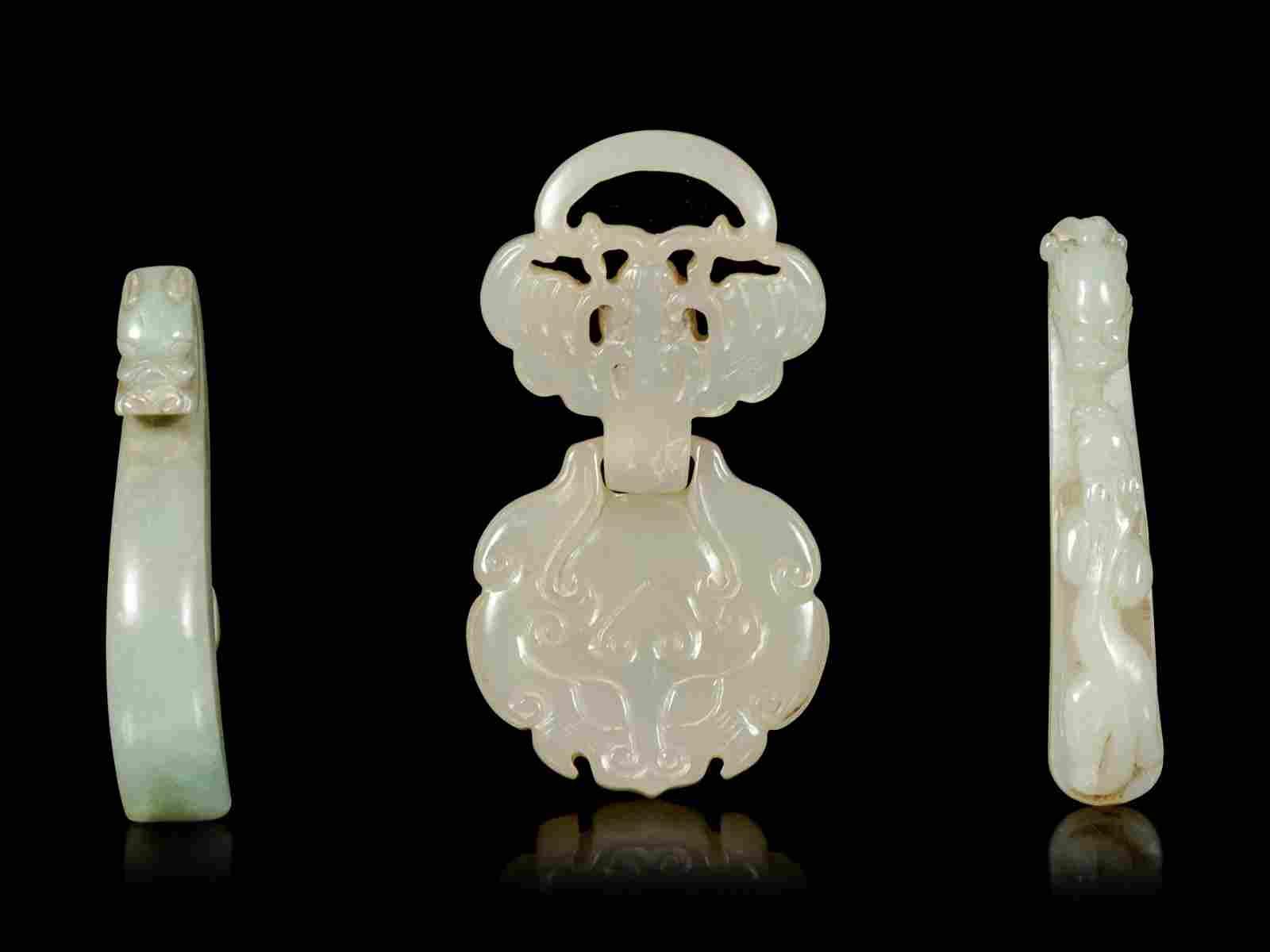 Three Chinese Jade Articles