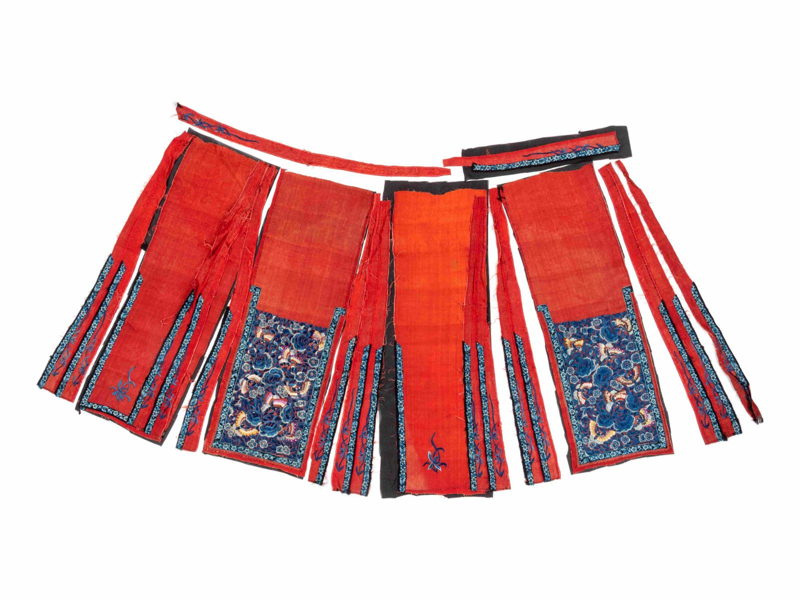 Seven Chinese Silk Textiles