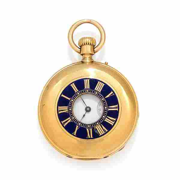 ROSSEL & FILS, D.F. BOUTTE & CO. 18K YELLOW GOLD AND