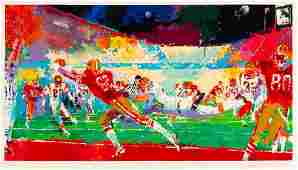 A 1989 San Francisco 49ers Superplay LeRoy Neiman