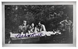 A Babe Ruth Signed Original Photograph (Beckett LOA),